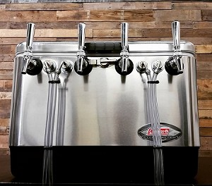 4 Faucet Stainless Jockey Box