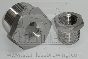 Threaded Hex Bushing