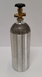 5lb Aluminum CO2 Tank empty