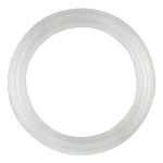 Sanitary or TriClamp Clear Silicone Gasket